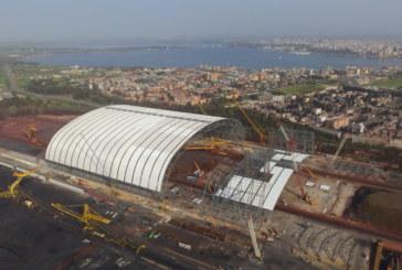 ArcelorMittal Taranto, già conclusa metà della copertura del Parco Minerale