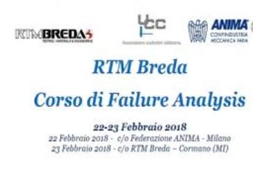 RTM Breda e UCC, un Corso di Failure Analysis
