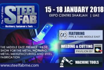 """Voluto da Messe Essen, """"SteelFab"""" dal 15 al 18 gennaio negli Emirati Arabi è stato un grande successo"""