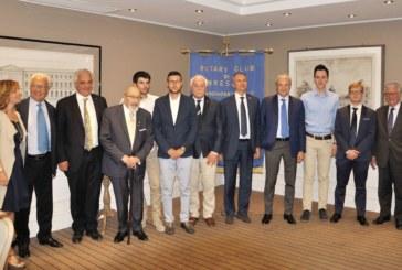I premiati della  6a edizione della consegna di borse di studio a ingegneri dell'università di Brescia