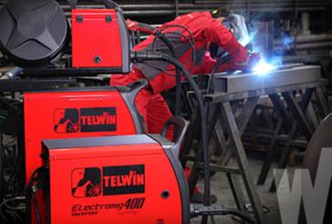 """Saldatrici Telwin """"Electromig 400"""" e """"450 Synergic"""": la modularità della potenza"""