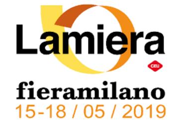 """Il grande appuntamento fieristico di """"Lamiera"""" si terrà a Fieramilano-Rho dal 15 al 18 maggio 2019"""