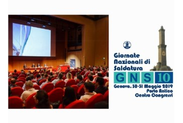 """A Genova al via le """"Giornate Nazionali di Saldatura"""" edizione numero 10"""
