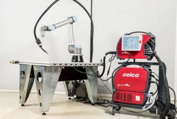 """Presentato il nuovo sistema """"Cobot Selco"""", per una saldatura robot collaborativa."""