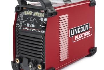 L'alimentatore Aspect 230 di Lincoln Electric per la saldatura ad arco