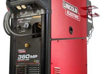 Lincoln Electric: la saldatrice multiprocesso POWER MIG 360MP