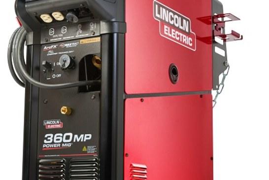 Lincoln Electric: la saldatrice multiprocesso POWER MIG 360MP