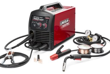 La saldatrice POWER MIG 140 MP di Lincoln Electric