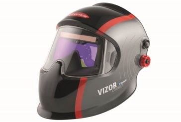 Il casco Bluetooth per saldatura Fronius Vizor Connect