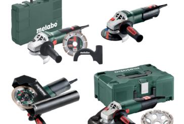 Le smerigliatrici potenziate per la lavorazione dei metalli Metabo