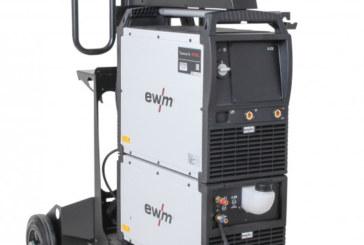 EWM Taurus Steel consente di risparmiare elettricità e costi