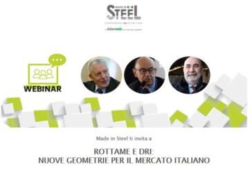 Webinar gratuito – Rottame e DRI: nuove geometrie per il mercato italiano