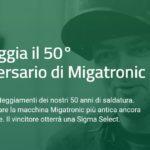 Migatronic è alla ricerca della più antica macchina in circolazione