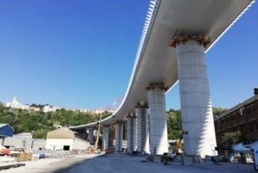 Volata finale per il nuovo viadotto Polcevera di Genova