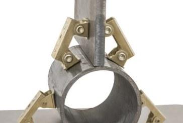 I morsetti magnetici a V di Industrial Magnetics per saldatura
