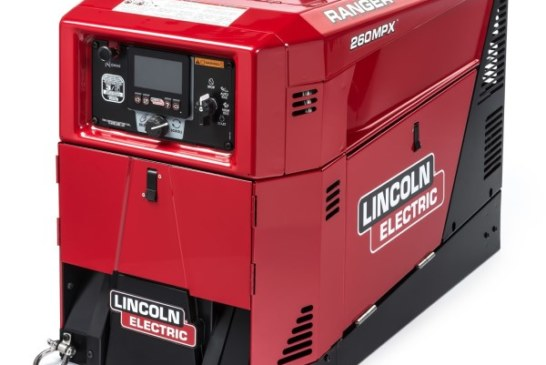 La saldatrice Ranger 260MPX di Lincoln Electric, 260 amp in un design compatto