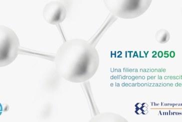 H2 Italy 2050, una filiera nazionale dell'idrogeno per la crescita e la decarbonizzazione dell'Italia